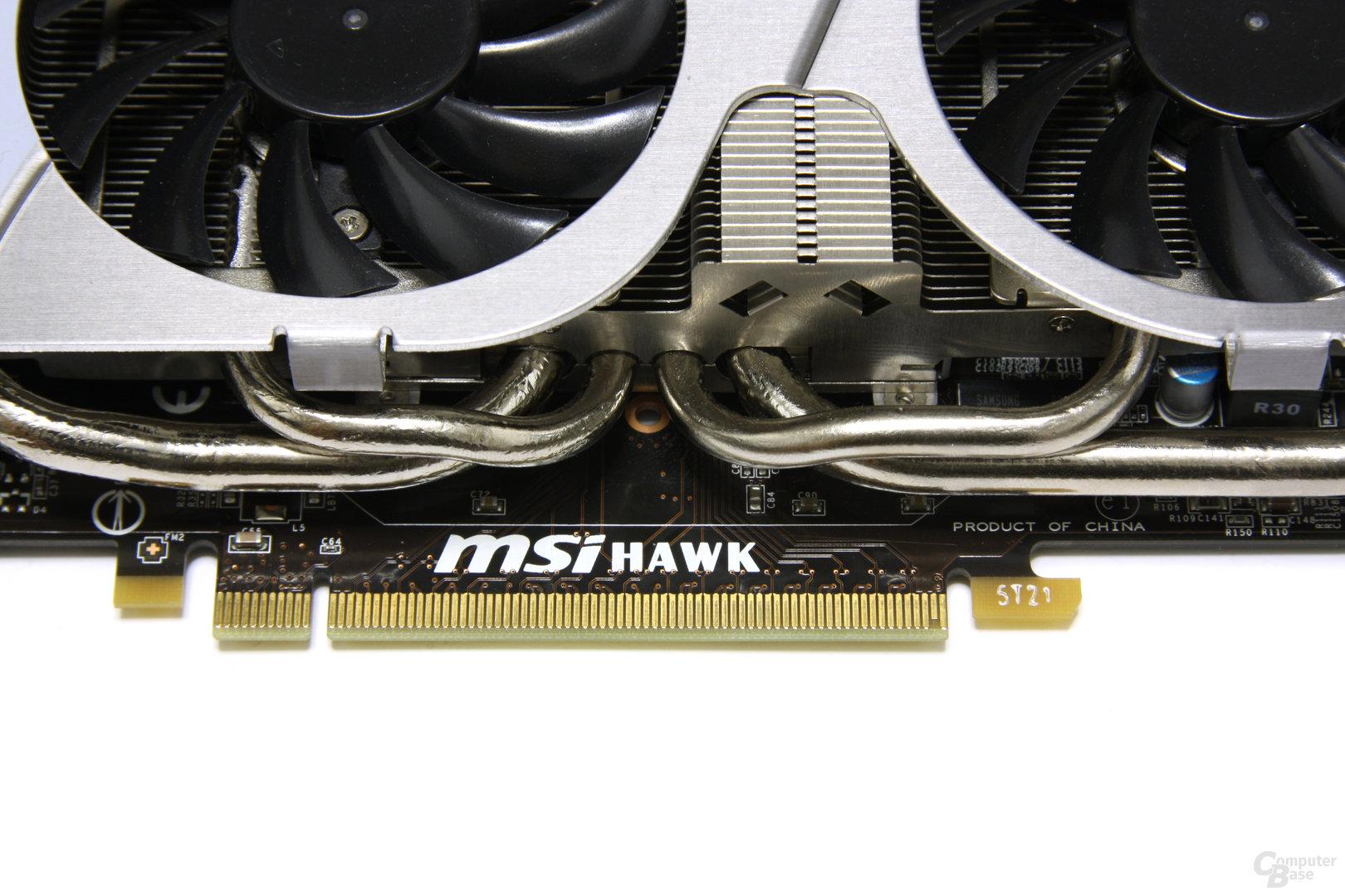 GeForce GTX 460 Hawk Heatpipes