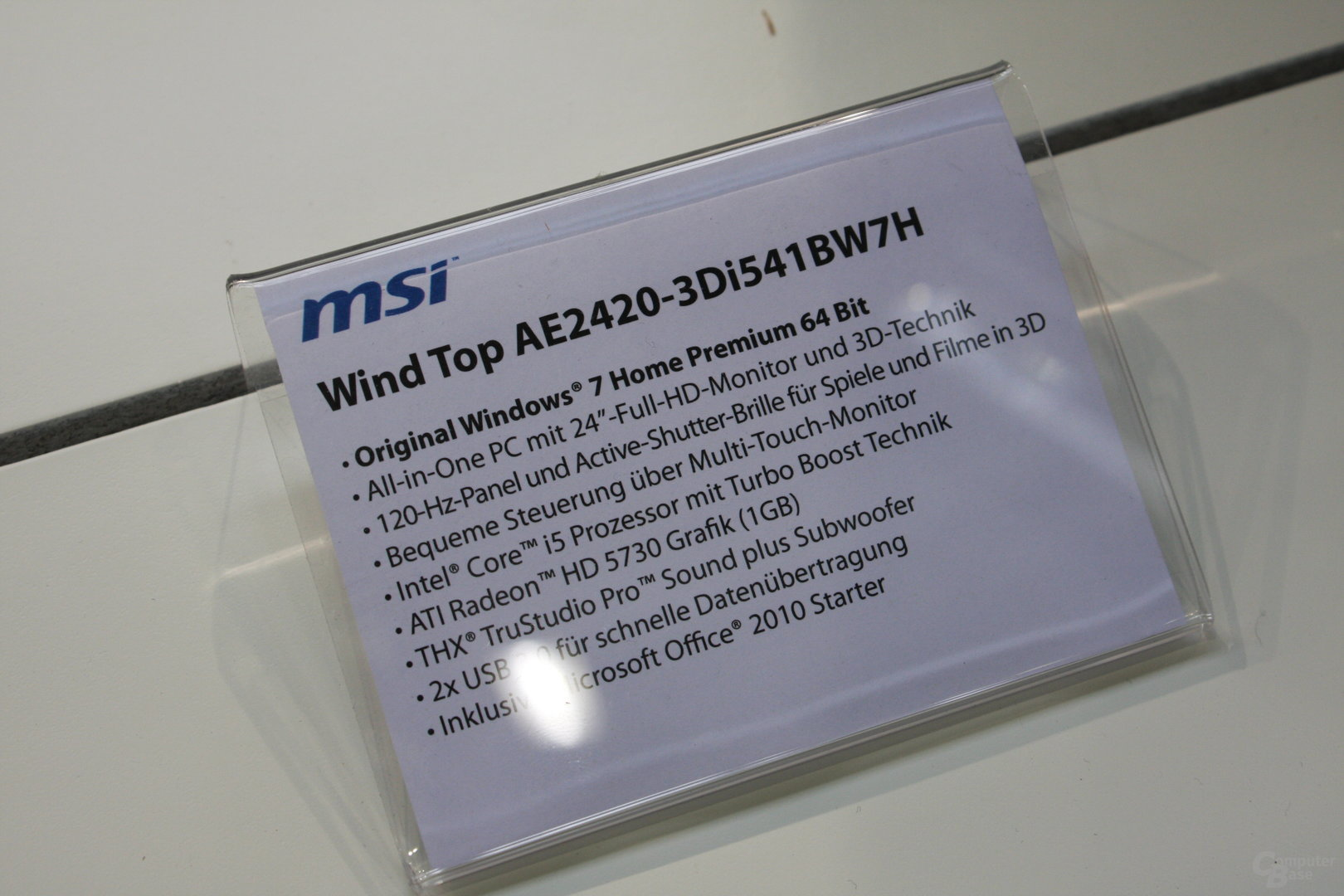 MSI Wind Top AE2420