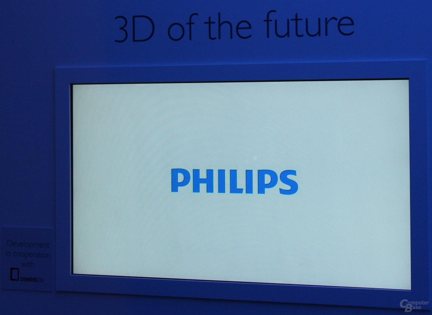 philips 3d fernseher ohne brille bild 5 5 computerbase. Black Bedroom Furniture Sets. Home Design Ideas