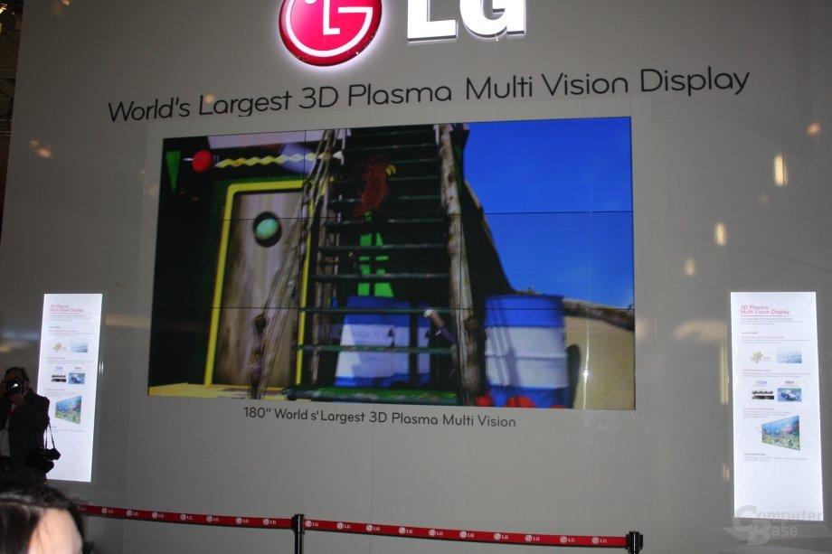 """LGs 3D-Plasma-Wand mit 180"""""""