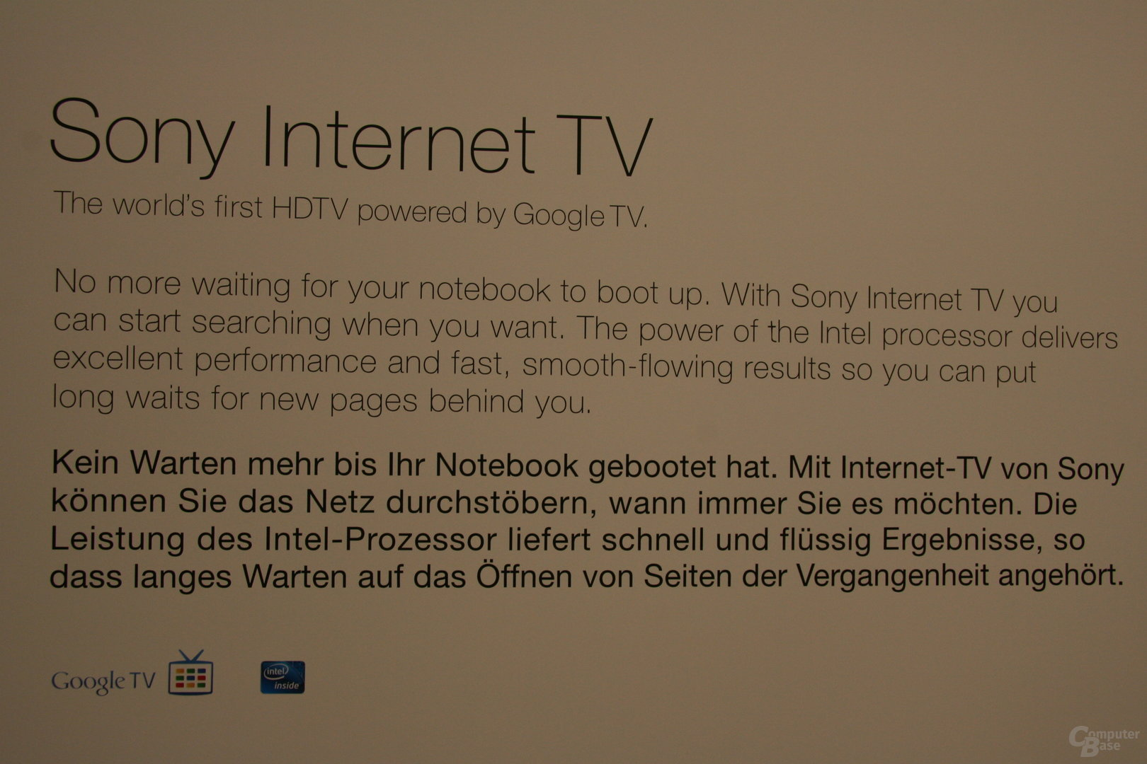 Sony Internet TV