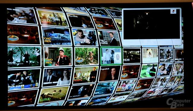 Google TV im Einsatz
