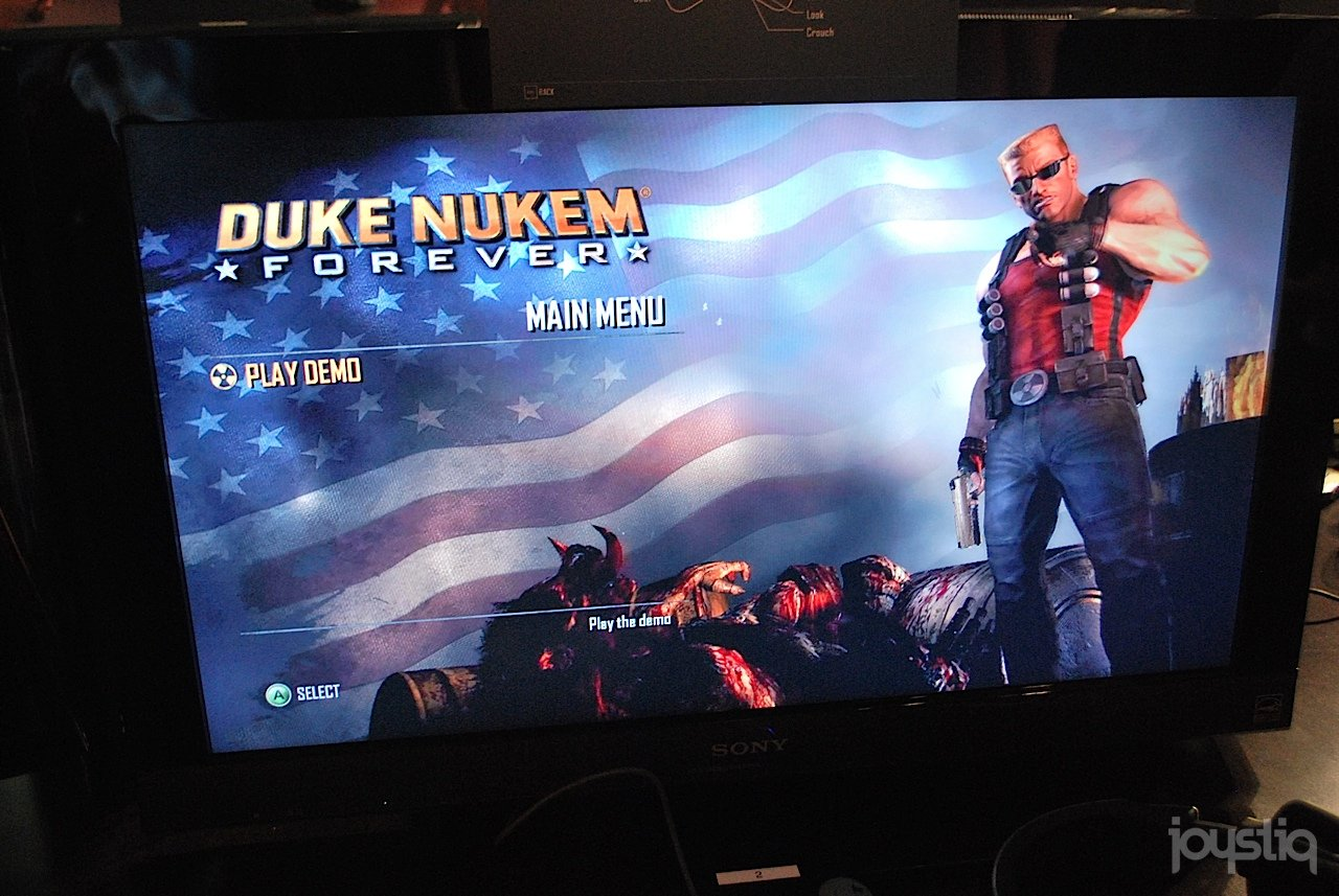 Duke Nukem Forever: Video Capture von der PAX 11