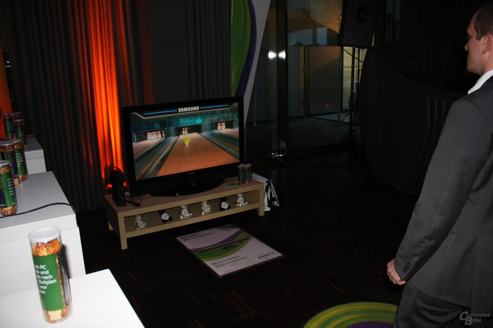 Eindrücke von Microsofts Kinect