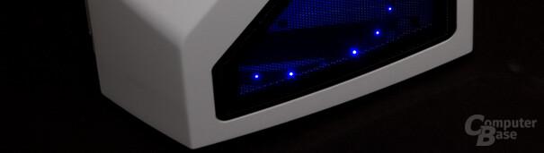 NZXT Phantom – Beleuchtung in der Front