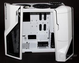 NZXT Phantom – Demontierter Deckel und Front