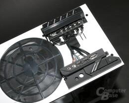 NZXT Phantom – Versorgungskabel für Port-Kit und Lüftersteuerung