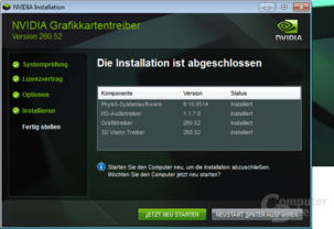 Nvidia GeForce 260.52