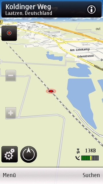 Nokia C6-00: Ovi Maps