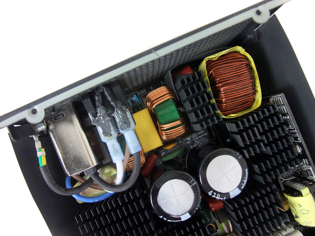 Corsair AX1200 – Netzfilterung