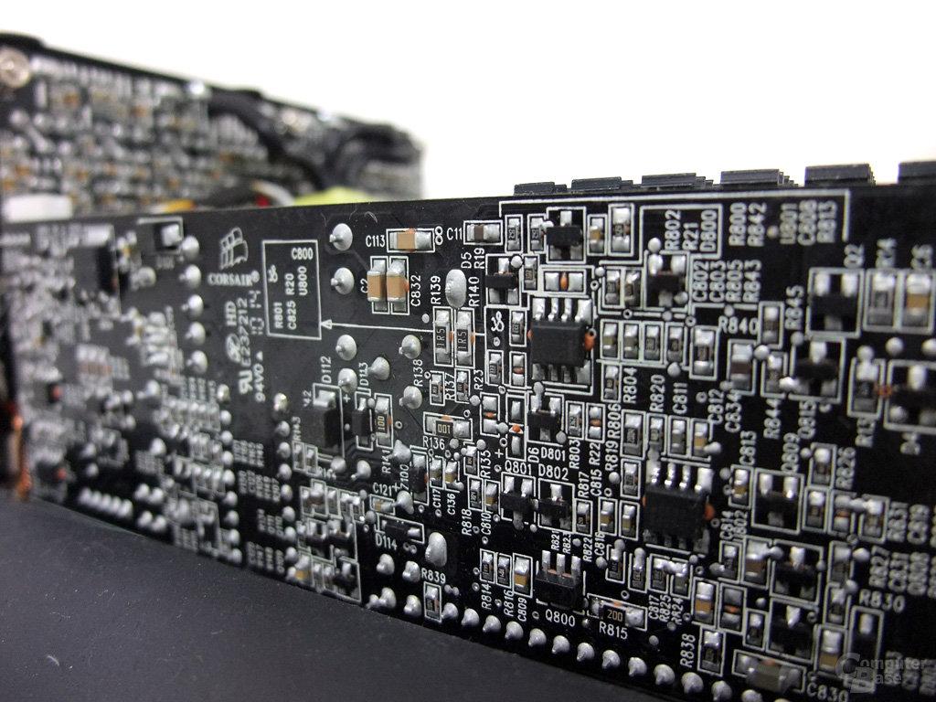 Corsair AX1200 – Standby-Platine