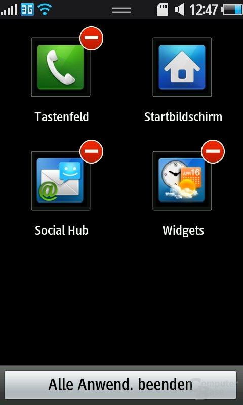 Bada OS: Task Manager