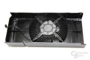 GeForce GTS 450 Kühlerrückseite