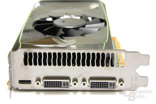 GeForce GTS 450 Slotblech