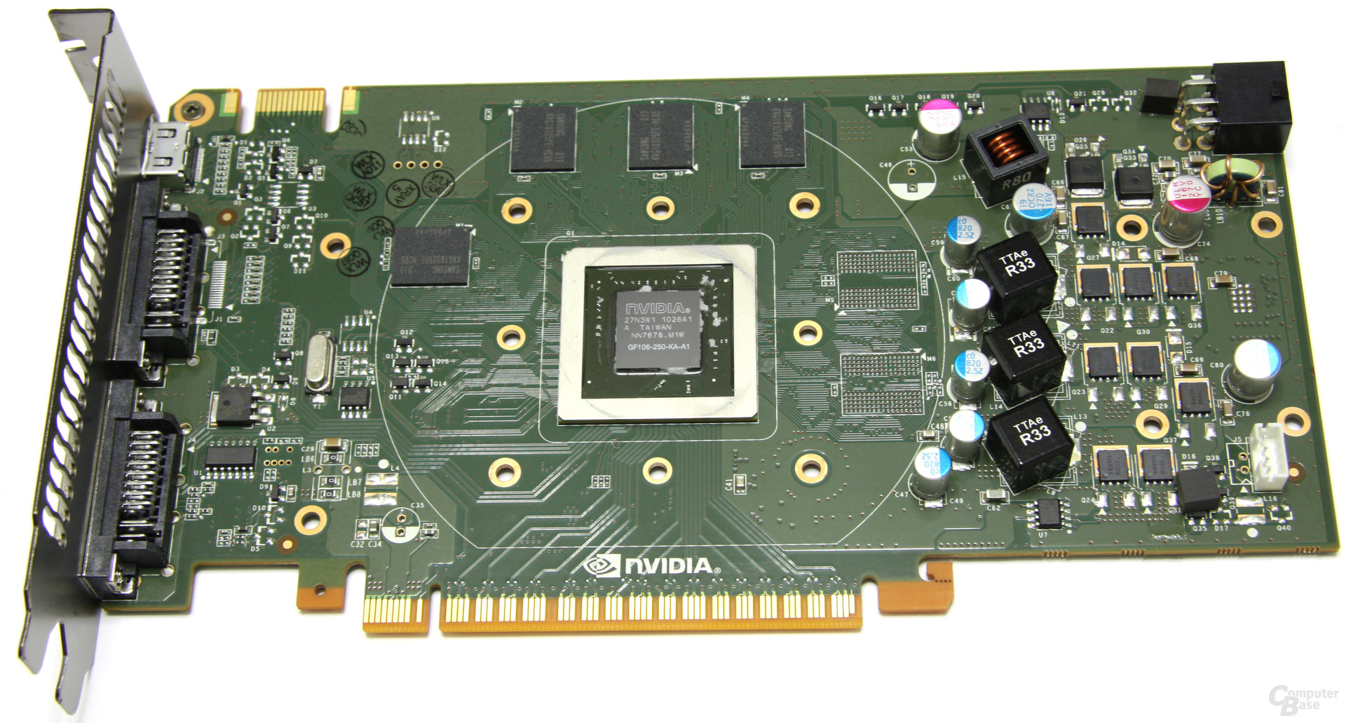 GeForce GTS 450 ohne Kühler