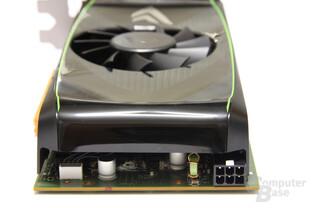 GeForce GTS 450 von hinten