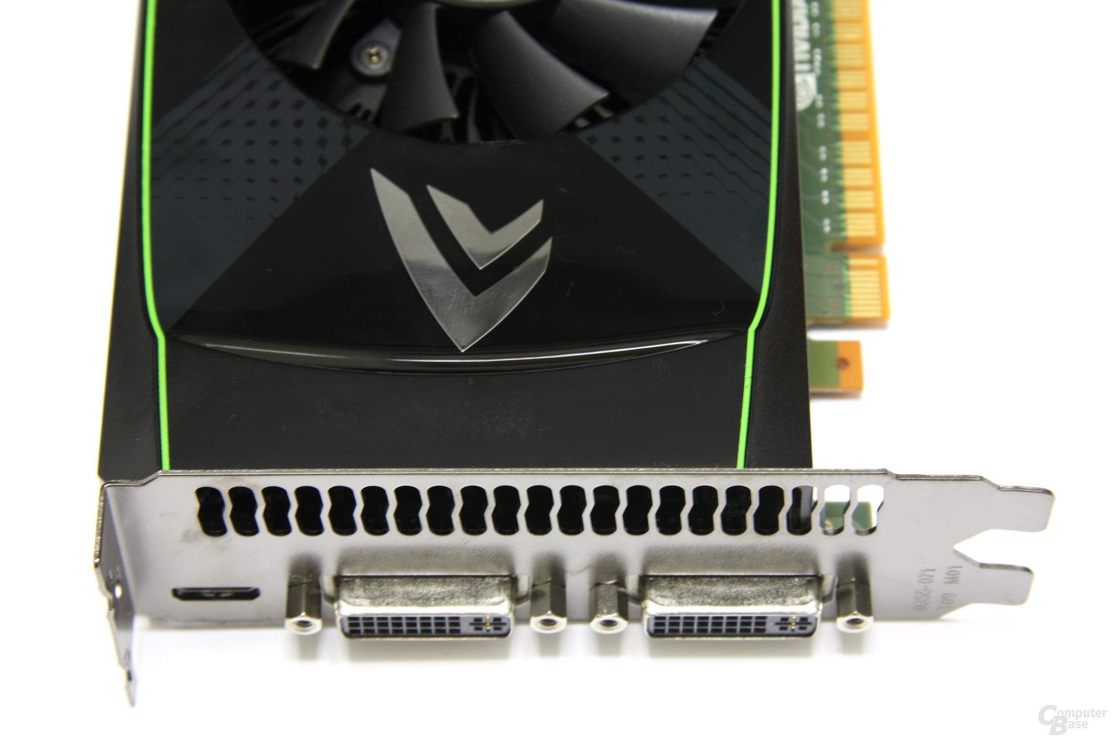 GeForce GTS 450 Anschlüsse