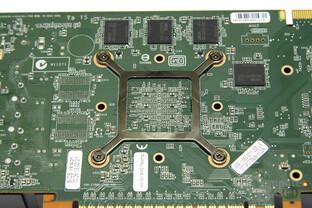 GeForce GTS 450 GPU-Rückseite