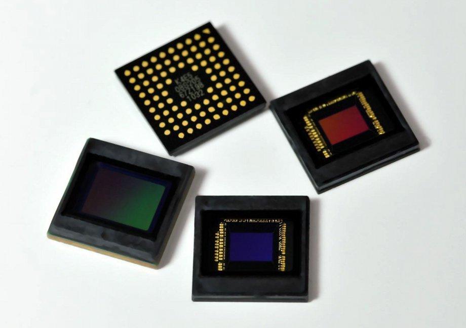 CMOS-Bildsensoren mit Back Side Illumination Technology für Mobile Geräte von Samsung