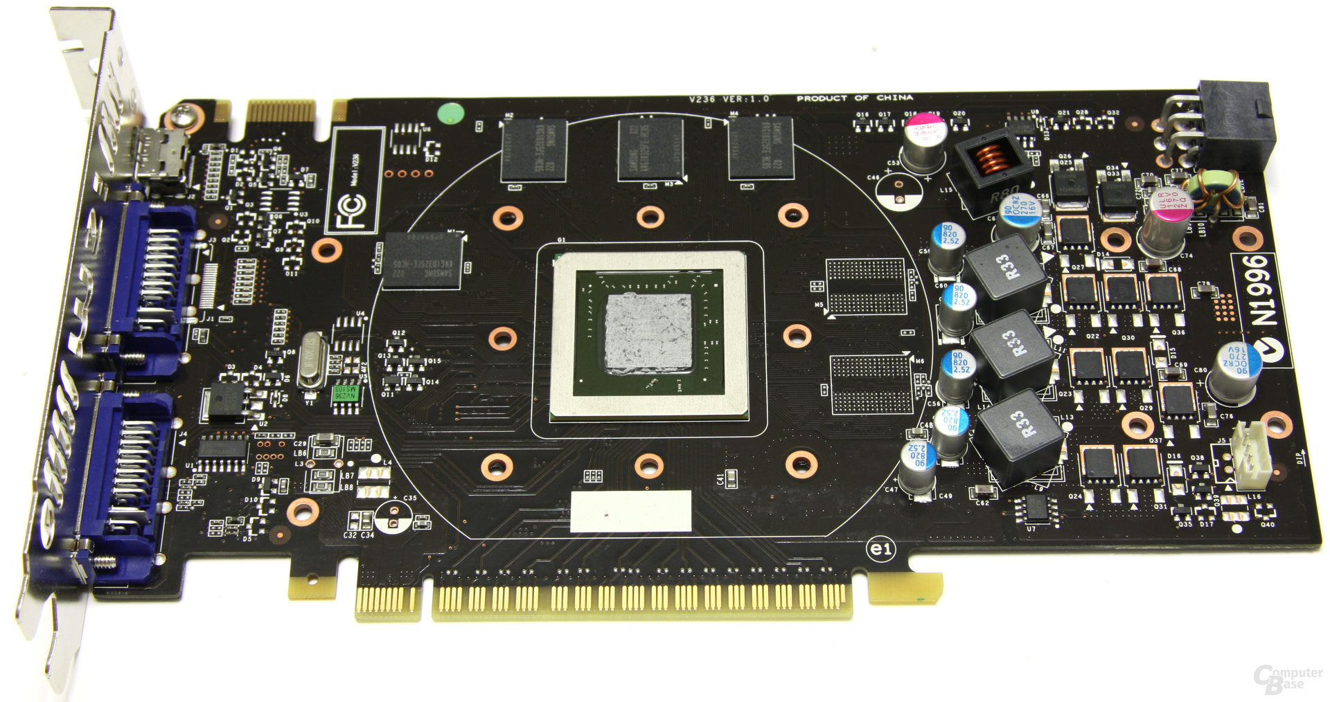 GeForce GTS 450 Cyclone OC ohne Kühler
