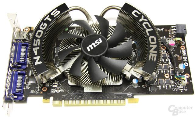 MSI GeForce GTS 450 Cyclone OC