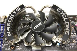 GeForce GTS 450 Cyclone OC Kühler