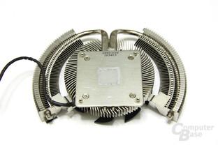 GeForce GTS 450 Cyclone OC Kühlerrückseite