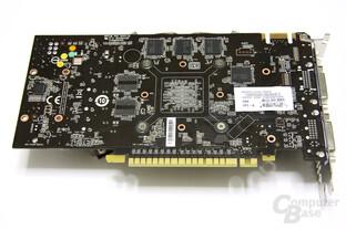 GeForce GTS 450 Cyclone OC Rückseite