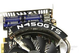 GeForce GTS 450 Cyclone OC Schriftzug