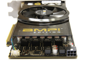 GeForce GTS 450 AMP! von hinten