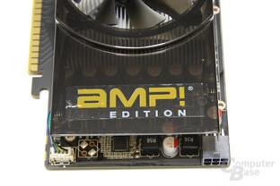 GeForce GTS 450 AMP! von oben