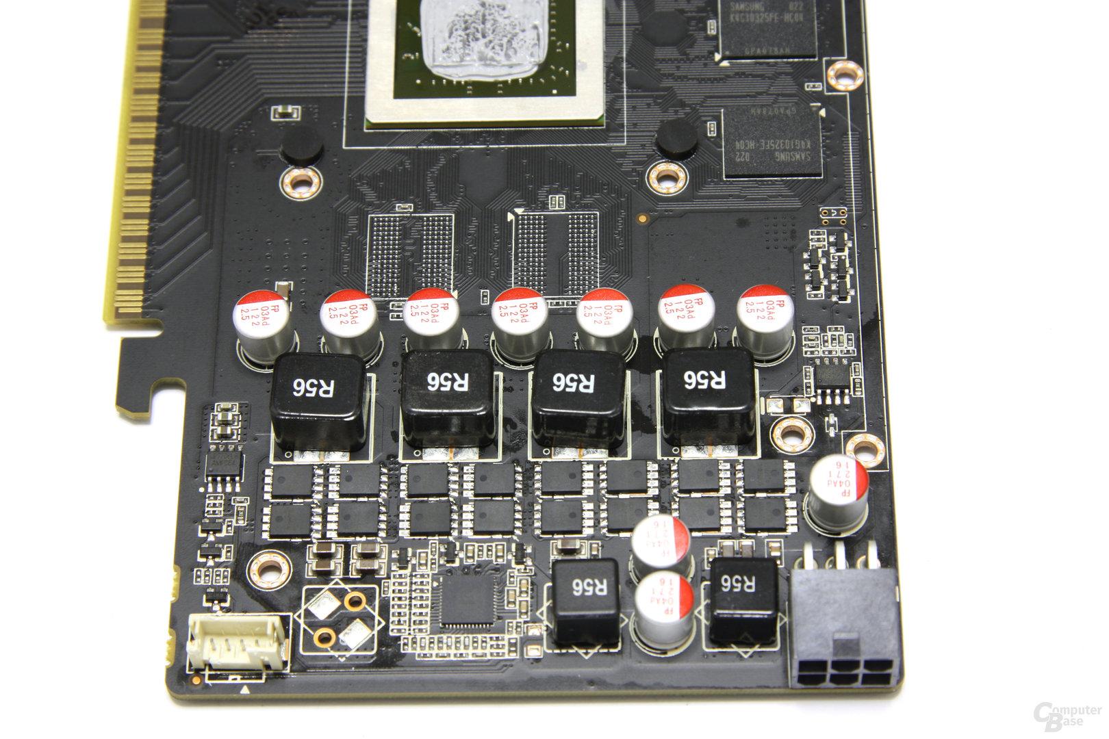 GeForce GTS 450 AMP! Stromversorgung