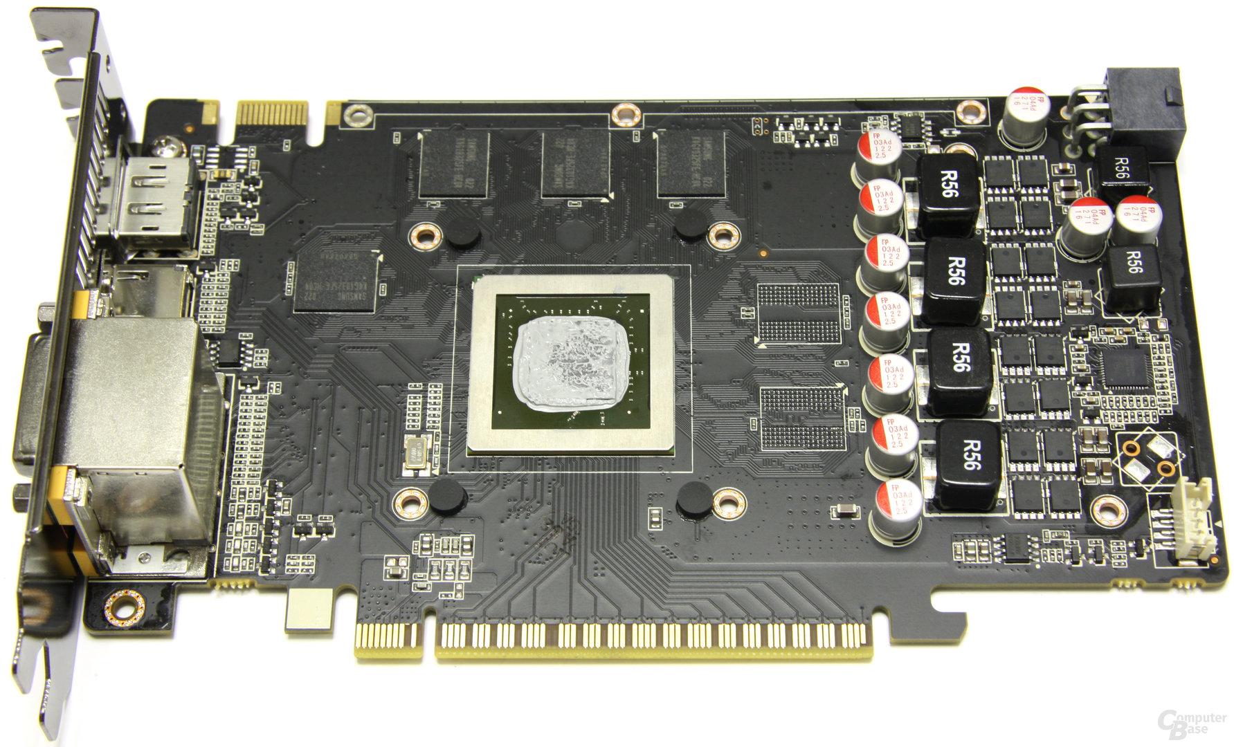 GeForce GTS 450 AMP! ohne Kühler
