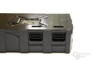 Radeon HD 5970 Black LE Stromanschlüsse