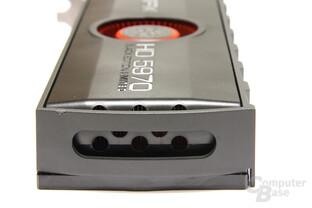 Radeon HD 5970 Black LE von hinten