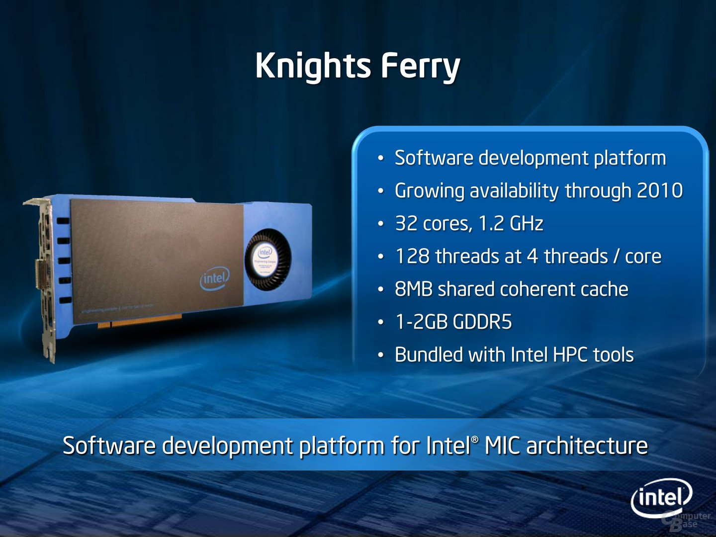 "Intel ""Knights Ferry"""