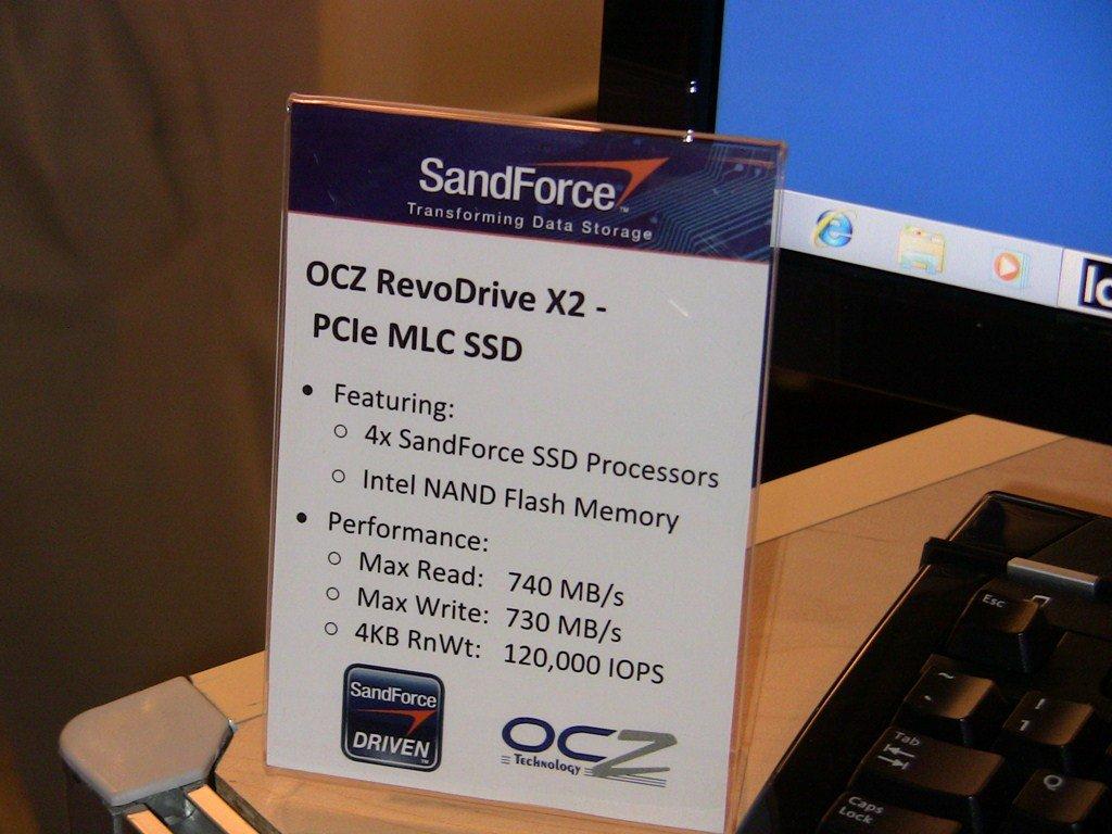 IDF: OCZ RevoDrive X2