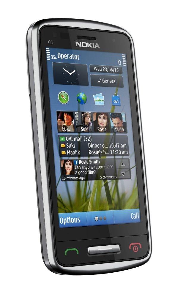 Nokia C6-01: Homescreen