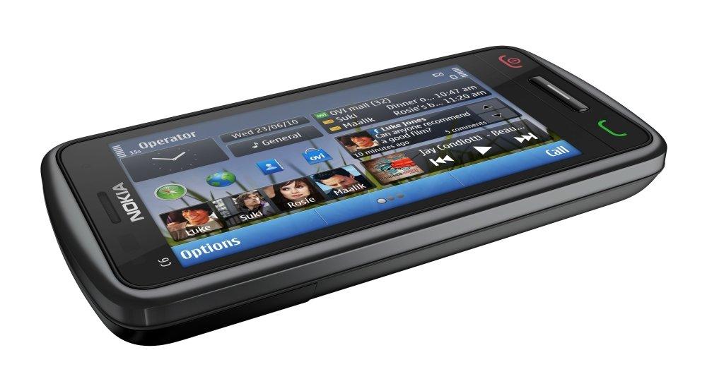 Nokia C6-01: Vorderseite