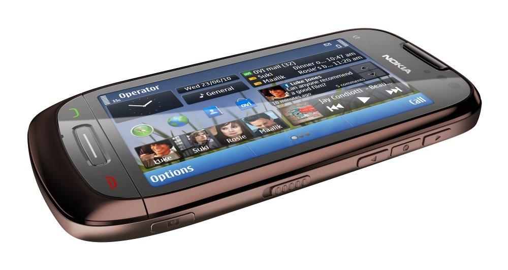 Nokia C7: Seitenansicht