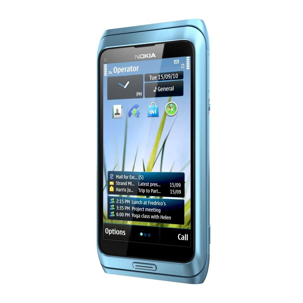 Nokia E7: Vorderseite