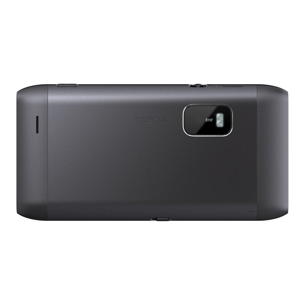 Nokia E7: Rückseite