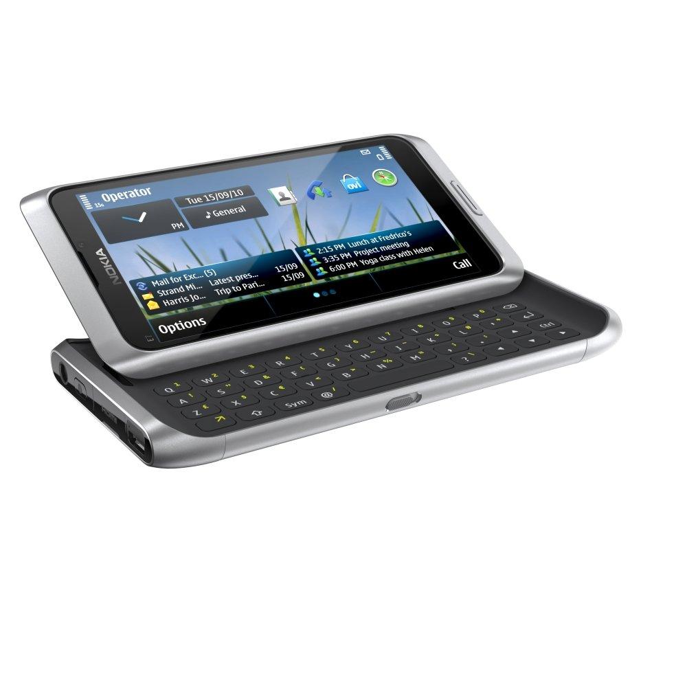 Nokia E7: Tastatur