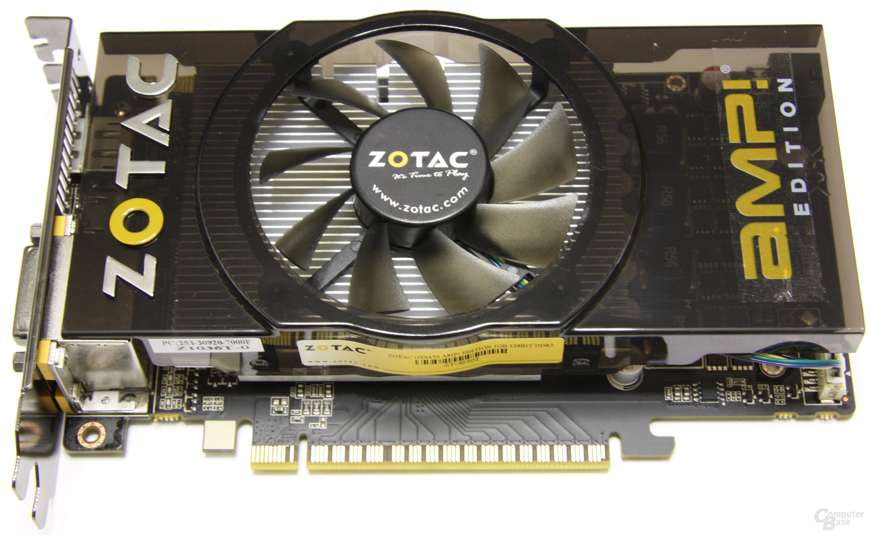 Zotac GeForce GTS 450 AMP!