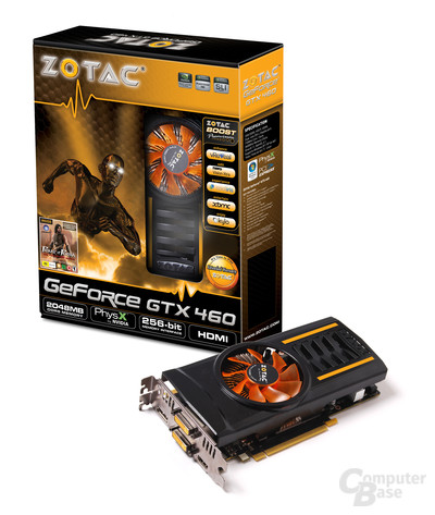 Zotac GeForce GTX 460 2 GByte