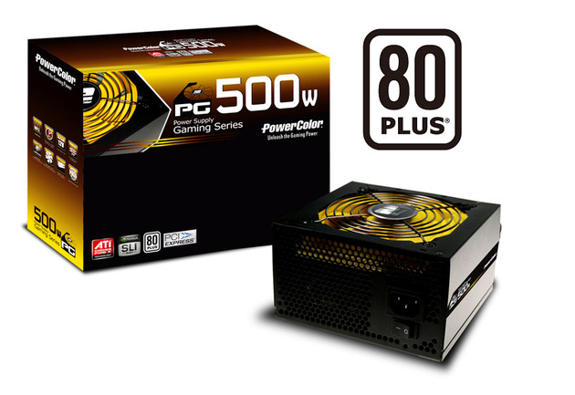 PowerColor Gaming 500W
