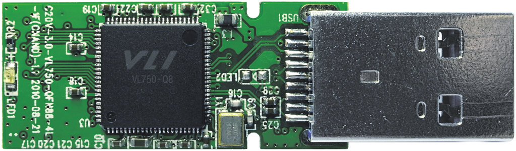 Beispiel eines PCBs mit VL750