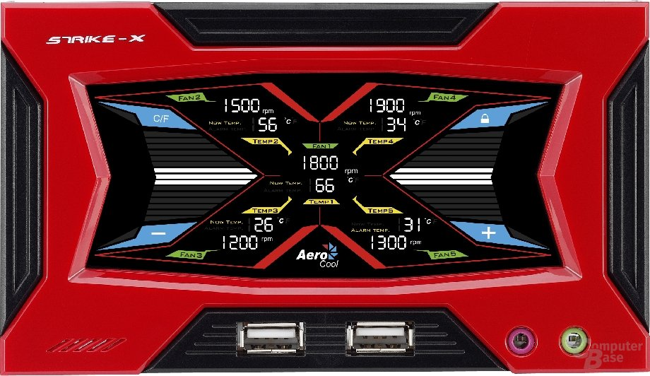 Aerocool Touch Panel Strike-X