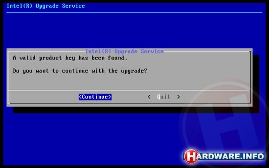 Software-Update für Prozessor