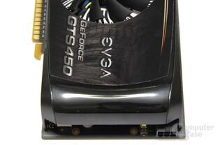 GeForce GTS 450 FTW von oben